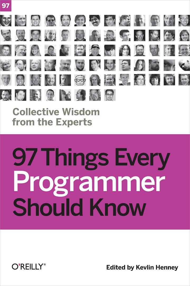 97ThingsEveryProgrammerShouldKnow